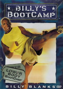 Billy-Blanks-Billy-039-s-Bootcamp-Lower-Body-TAE-BO-DVD-NEU