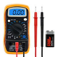 Digital Voltmeter Ammeter Multimeter