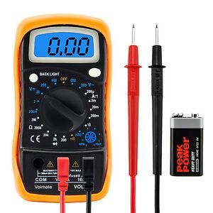 Digital-Voltmeter-Ammeter-Ohmmeter-Multimeter-Volt-AC-DC-Tester-Meter-US-Seller