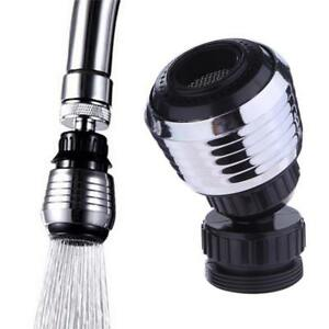 360-Rotary-Head-Faucet-Filter-Nozzle-Sprayer-Kitchen-Water-Tap-Plumbing-Saver