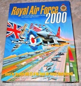 Details about MS Flight Sim 2000 Royal AIR FORCE 2000 addon RARE big box  Version Vgc