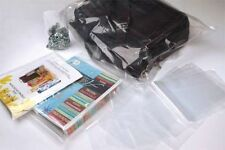 12x15 Clear Poly Plastic Lay Flat Bags Packing Shipping Open Top 1mil Fda Ldpe