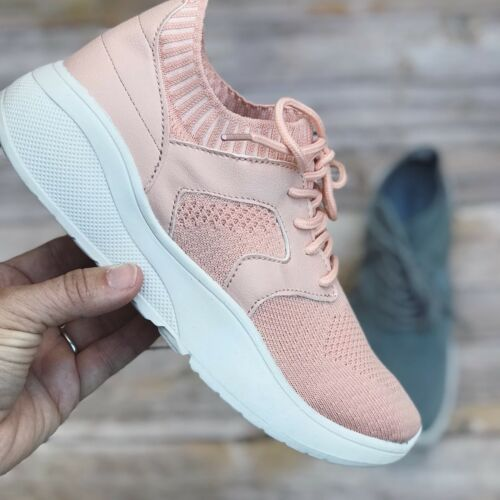 Qupid Shoes SPORT-01 PINK Flyknit Casual Sneaker Details about  /New SIZE 9