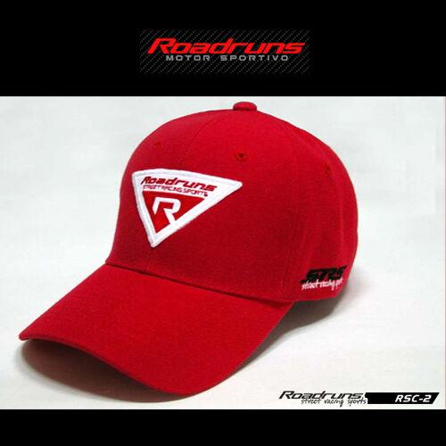 Motor Sports Driver Wear Racing Car Tuning Roadruns Cap Hat RSC-2