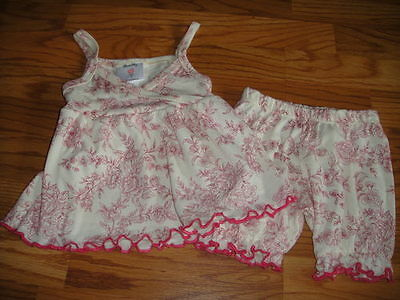 Girls' Clothing (newborn-5t) Outfits & Sets Mad Sky 12m 12 Months Floral Top Short Set