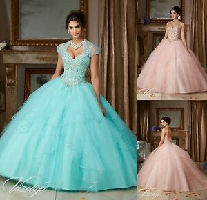 Free-Jacket-Princess-Evening-Prom-Pageant-Party-Quinceanera-Dress-Dance-Ballgown