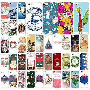 Christmas-Gifts-Patterned-PC-Hard-Case-Cover-Shell-For-iPhone-4-4S-5-5G-5S-5C