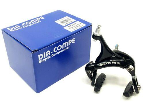 43-57mm Reach Black DiaCompe Racing Road Bike Front Brake Caliper 190g