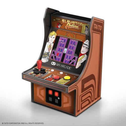 My Arcade Elevator Action Micro Arcade Machine Portable Handheld Video Game