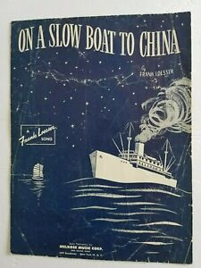 On-A-Slow-Boat-To-China-1948-Sheet-Music-by-Frank-Loesser