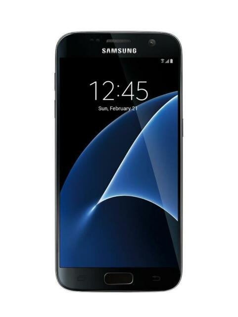 Samsung Galaxy S7 (G930T) 32GB Black (T-Mobile) GOOD with Flaw