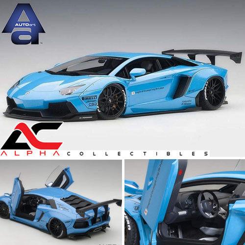 Pre Autoart 1 18 Liberty Walk Lb Works Lamborghini Aventador Die