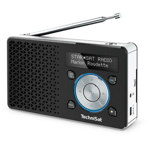 TechniSat DIGITRADIO 1 DAB+ Radio, OLED-Display, UKW, Favoritenspeic