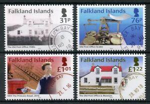 Falkland-Islands-2018-MNH-Fox-Bay-Post-Office-4v-Set-Postal-Services-Stamps