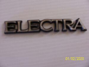 1987 Buick Electra Fender Side Trim Emblem Ornament Oem Used