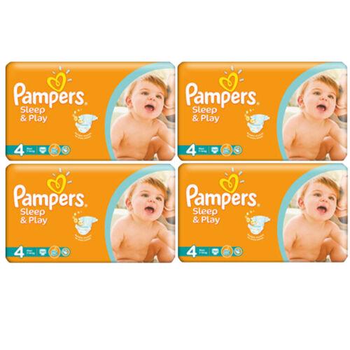 PAMPERS Simply Dry Sleep /& Play Maxi Gr.4  9-14kg 50-400Stück