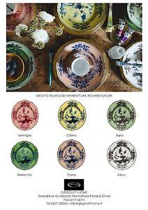 Richard Ginori - Serv Flat 36 pieces Oriente Italiano For 12 pers ...