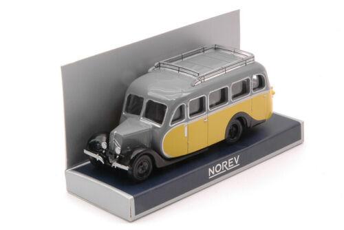 Modellino autobus bus 1:87 Norev CITROEN U23 AUTOCAR 1947 diecast modellismo