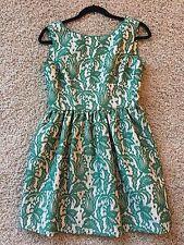 Zara Gorgeous Green Puffy Bubble Skirt Dress Gown Medium SOLD OUT