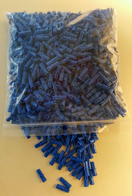 LEGO Technic LOT 100 pcs BLUE BLACK PIN Axle Connector Mindstorm NXT Part Piece