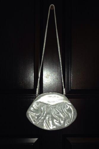 clutch tas zilveren Weitzman lederen portemonnee crossbody Stuart bf6gy7