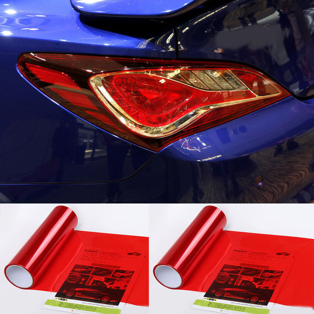 Car Headlight Taillight Fog Light Sticker Tint Protector Film Vinyl Wrap Decals 10