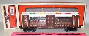 Lionel ~ 6-29647 Gingerbread man mint car