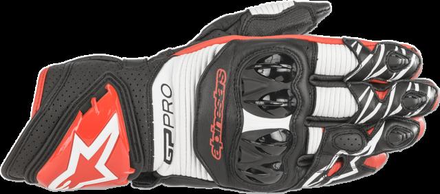 Alpinestars GP Pro R3 Gloves XL Black Red White 3556719-1304-XL