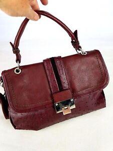 Bordeaux Designer Handbag David Fabuloso Cond Exc Jones tREwtcq6