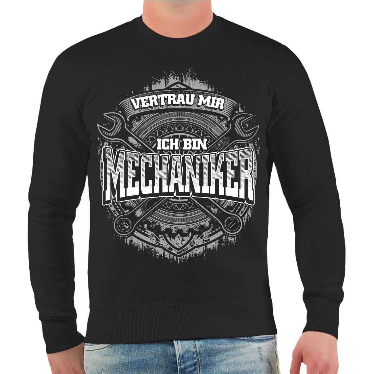 Pullover Grünrau mir mir mir ich bin Mechaniker Sweatshirt Auto Kfz Werkstatt Schrauber | Deutschland Shop  286f9e