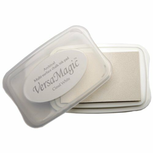 Tsukineko Versamagic Chalk-Finish Ink Pad - Cloud White