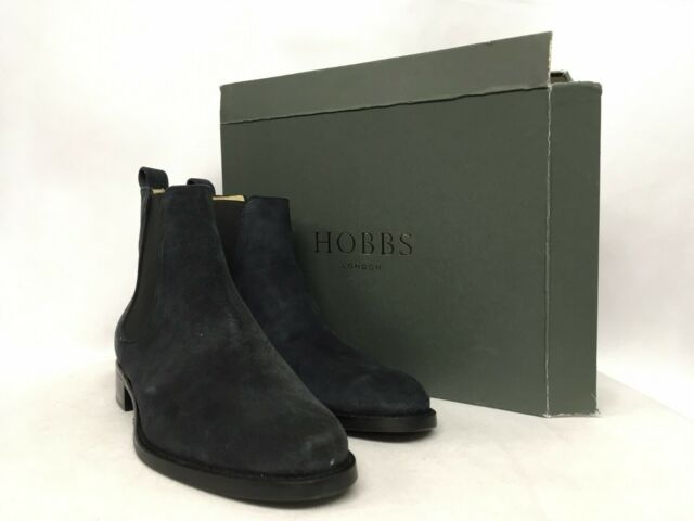 Various Sizes RRP £229. Hobbs Phoebe Suede Navy Boots
