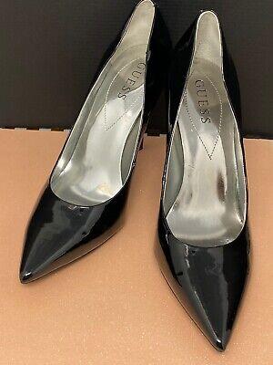 guess black stilettos