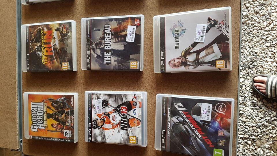 Diverse PS3 spil, PS3, anden genre
