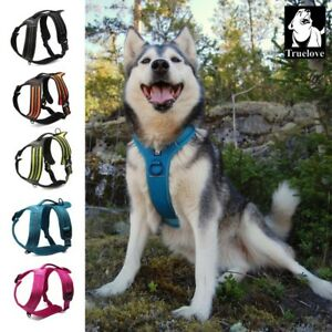 Truelove-Dog-Harness-No-Pull-Strong-Adjustable-High-vis-Reflective-XS-XL-5-Color