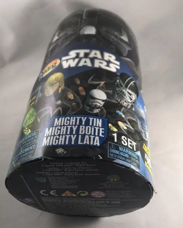 Star Wars Wars Wars Mighty Beanz Tin 2010 w  2 Exclusive Star Wars Beanz 432d91