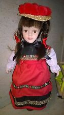 Schwarzwälder Trachtenpuppe Puppe Schwarzwald Geschenk Souvenir 40cm