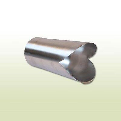 Regenrinnen & Zubehör Sonnig Aluminium Fallrohrauslauf Dn 60 Kann Wiederholt Umgeformt Werden. Fürs Dach