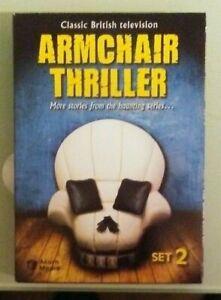 classic british television ARMCHAIR THRILLER set 2 DVD | eBay