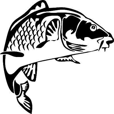 Pesca Pesca De Carpa Vinilo de pared Arte