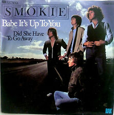 "7"" 1979 ! SMOKIE : Babe It´s Up To You // MINT- \"