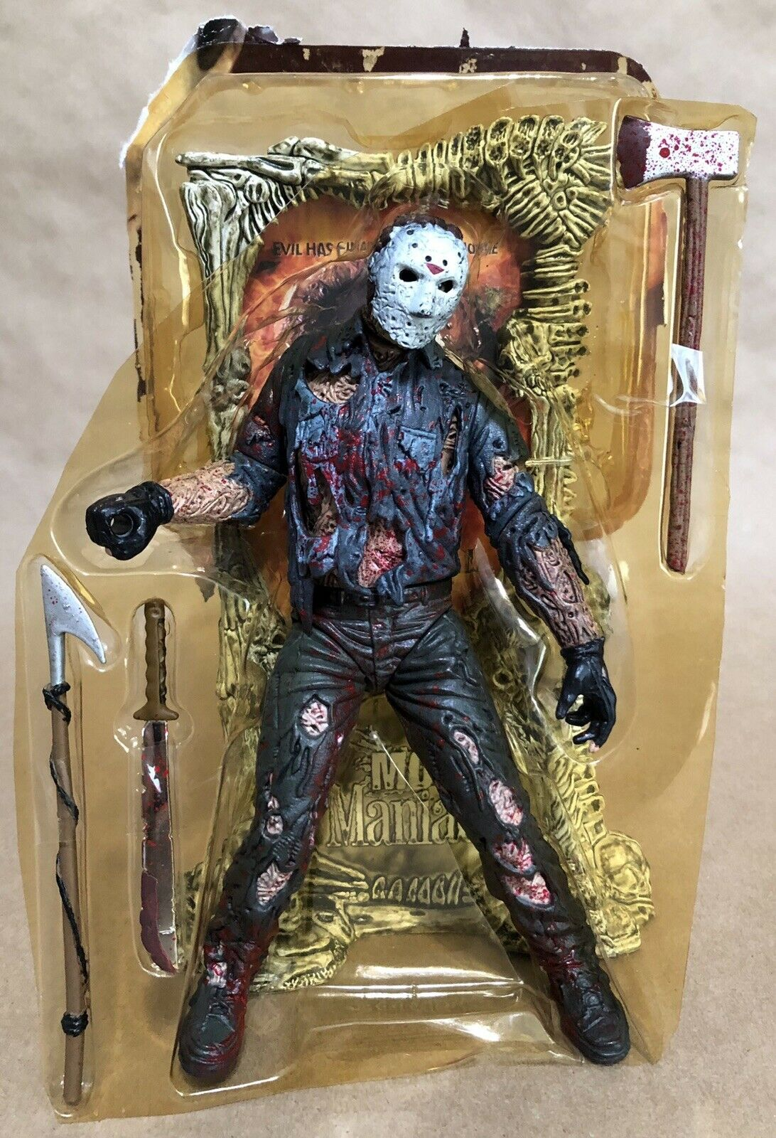 Jason Voorhees Bloody Friday The The The 13th McFarlane Movie Maniacs Loose Complete 3a2705