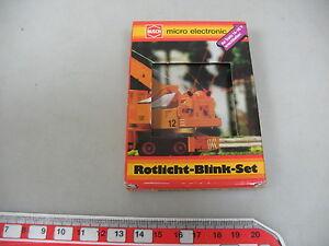 AL72-0-5-Busch-H0-5919-Rotlicht-Blink-Set-fuer-H0-Fahrzeuge-geprueft-NEUW-OVP