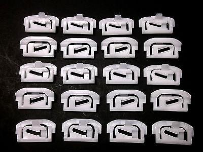 #221 Qty.25 Mazda Windshield /& Rear Window Trim Clip Screw-In Studs