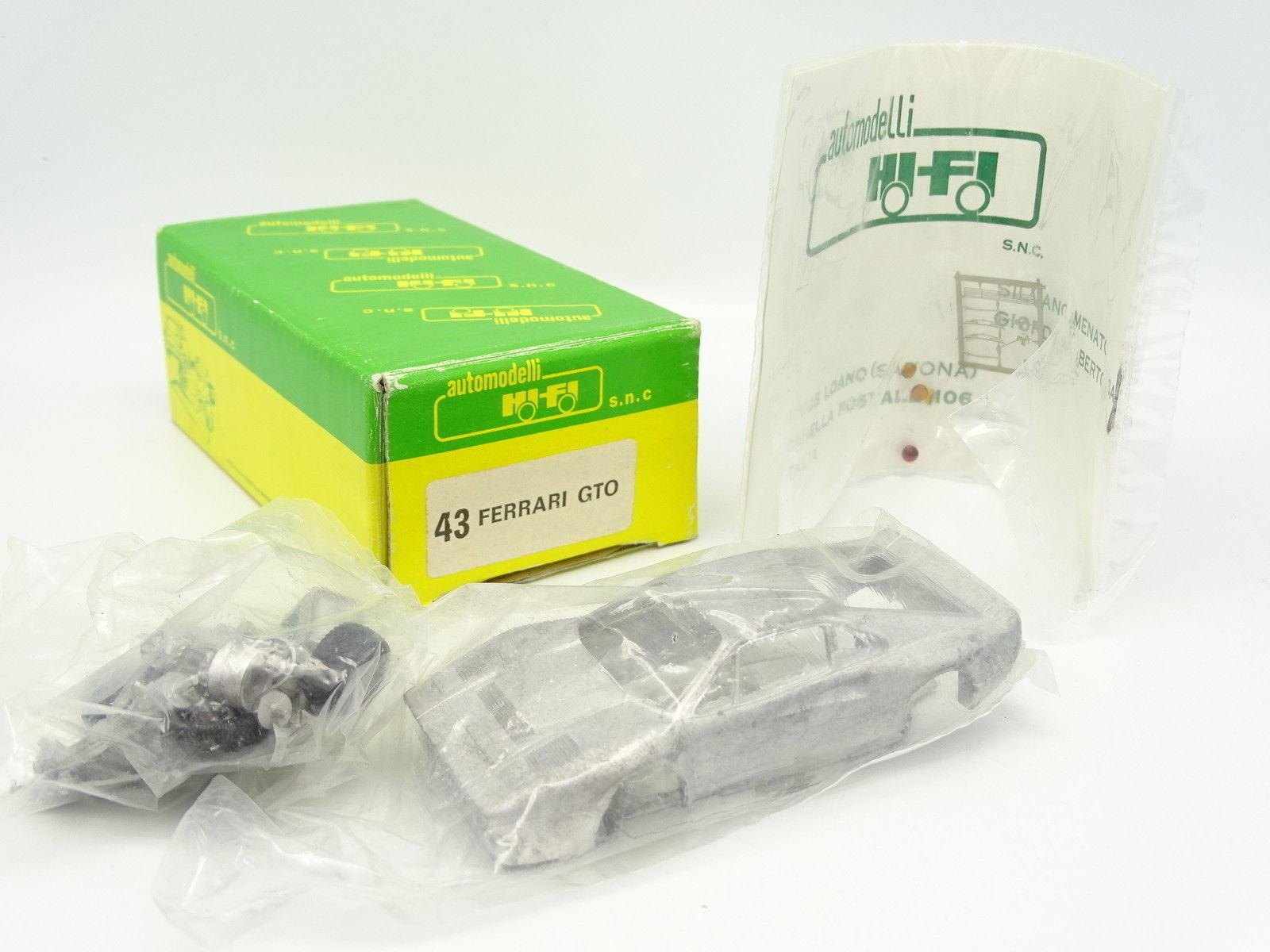 Hifi Kit para Montar 1 43 - Ferrari 288 Gto