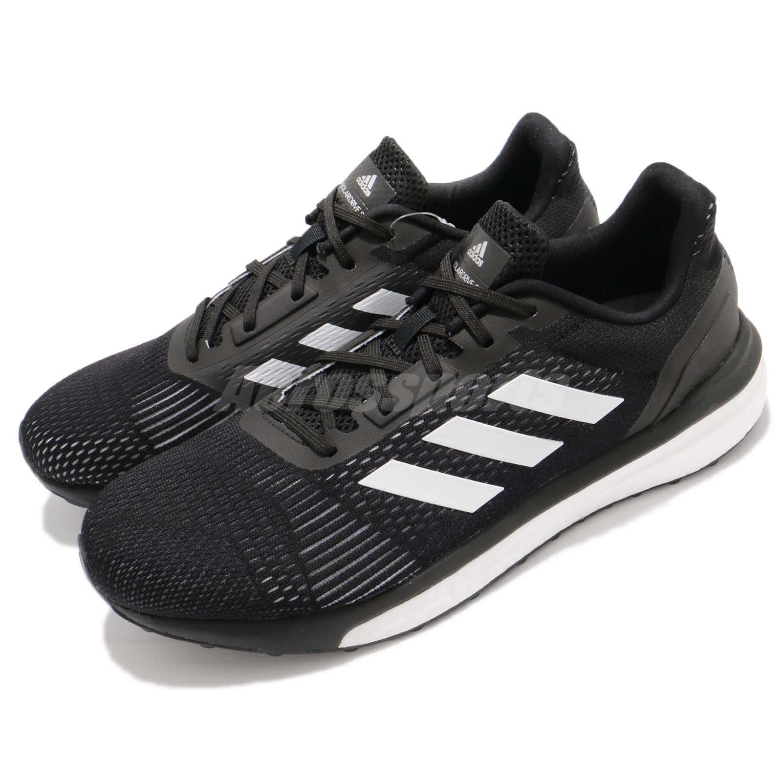 Adidas Solar Drive ST M Boost negro blanco Men Running Training zapatos AQ0326