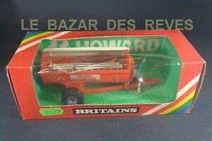 BRITAINS GB. étaleur de fumier rotatif. REF: 9568.  (1980)