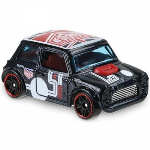 Morris Mini Cooper Urban Outlaw Blue Hot Wheels Nightburnerz 2018 #65 FJX71