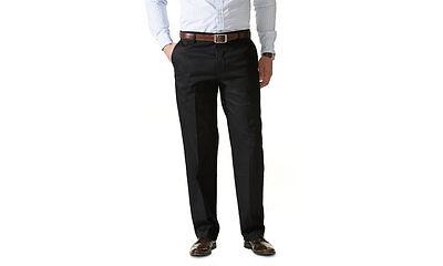 Dockers Men/'s D3 FF SHARP KHAKI Pants-BLACK-34 x 29-NWT