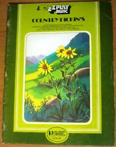 Country-Pickin-039-s-Book-EZ-Play-Sheet-Music-Organ-Piano-Guitar
